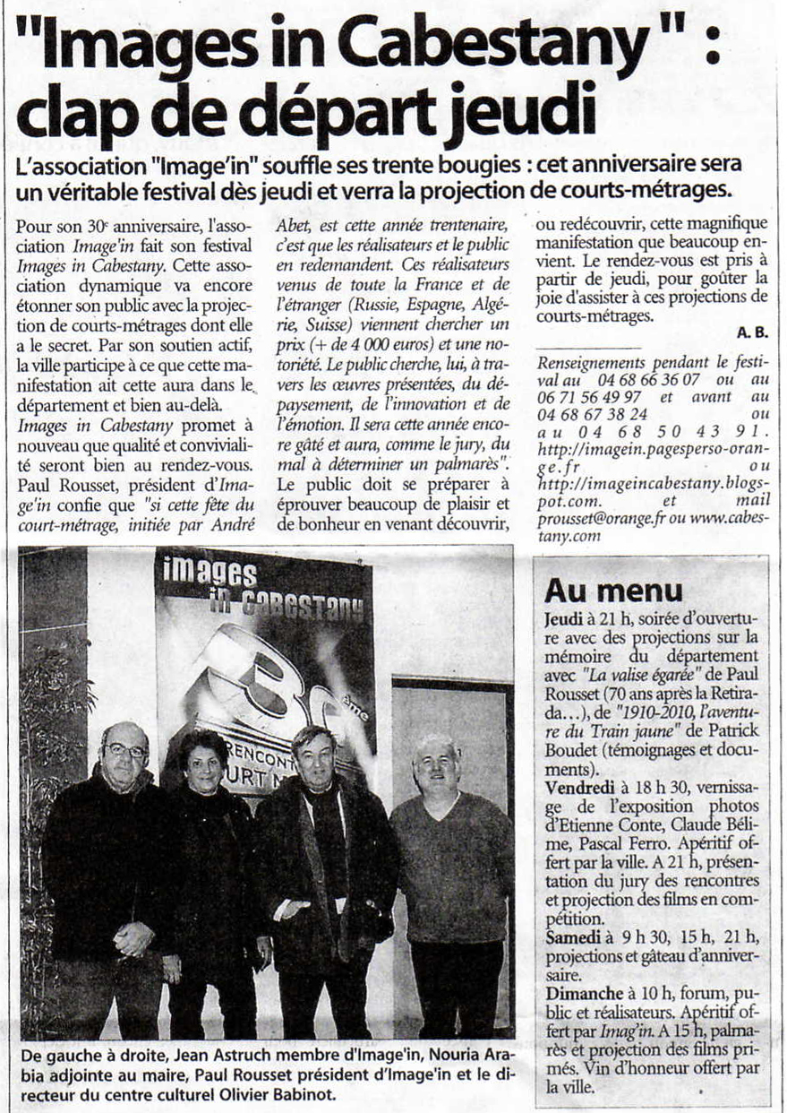Rencontres image in cabestany