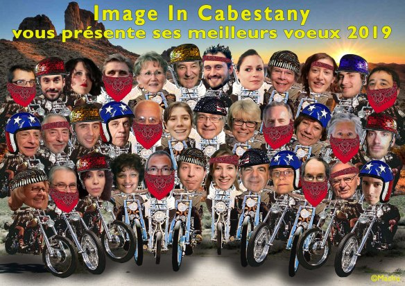 voeux 2019 image in cabestany